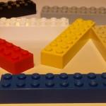 Lego bricks 8x2 2x8
